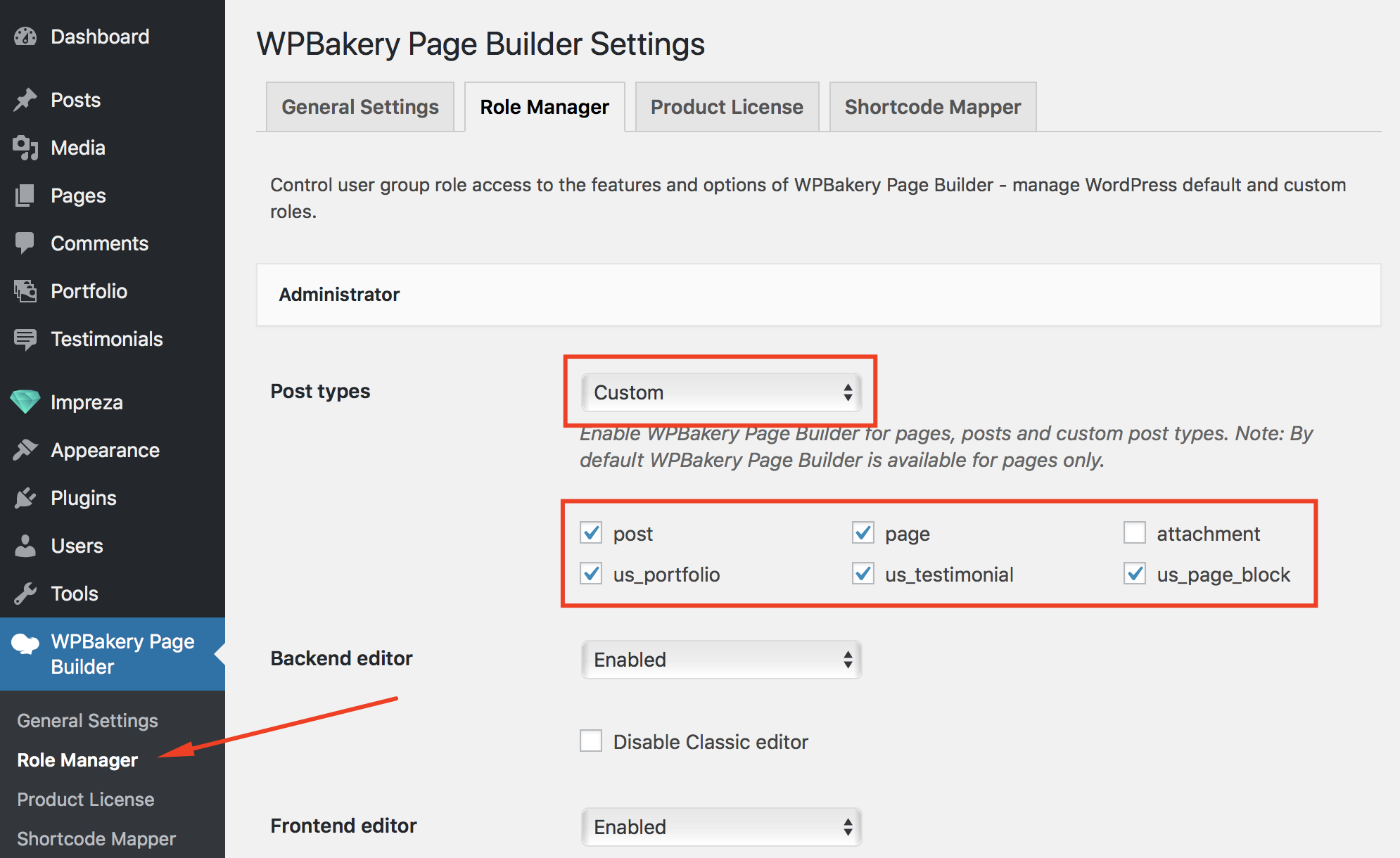 WPBakery Page Builder (formerly Visual Composer) - Impreza Knowledge